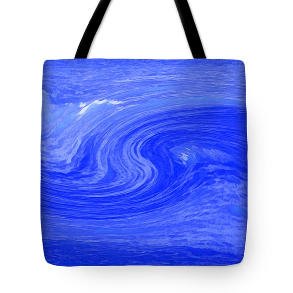 Alpha Wave By Jrr Tote Bag by First Star Art