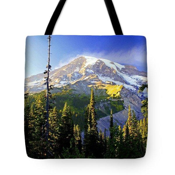 Alpine Glow 2 Tote Bag by Marty Koch