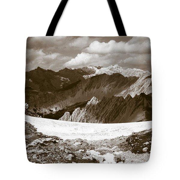 Alpine Landscape Tote Bag by Frank Tschakert