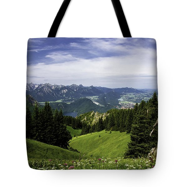 Alpine Meadow Tote Bag by Joanna Madloch