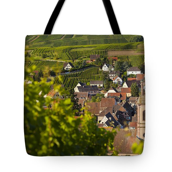 Alsace Morning Tote Bag by Brian Jannsen