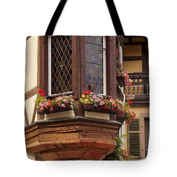 Alsace Window Tote Bag by Brian Jannsen