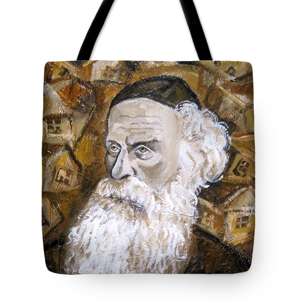 Alter Rebbe Tote Bag by Leon Zernitsky