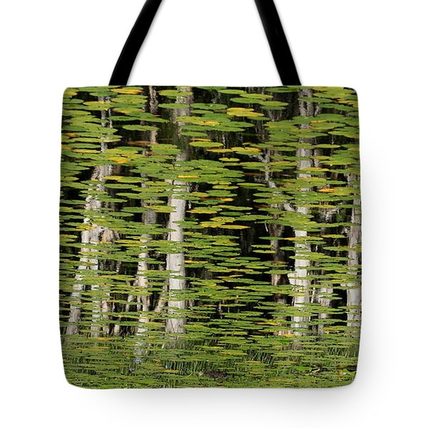 Altered Reflections Tote Bag by Howard Ferrier