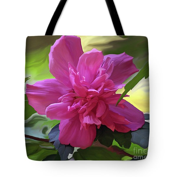 Althea Hibiscus I Tote Bag by Patricia Griffin Brett