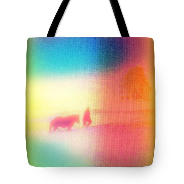 am I dreaming Tote Bag by Hilde Widerberg