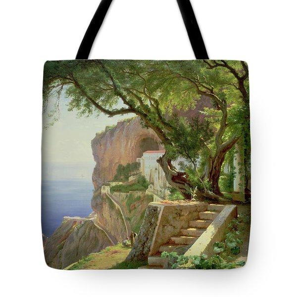 Amalfi Tote Bag by Carl Frederick Aagaard