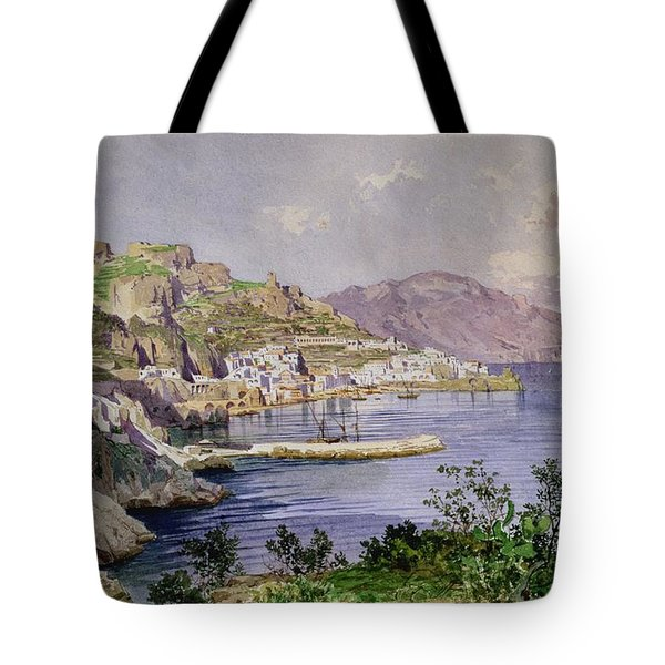 Amalfi Tote Bag by Ludwig Hans Fischer