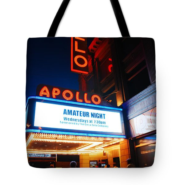 Amateur Night Tote Bag by James Kirkikis