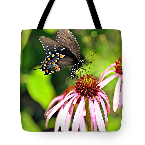 Amazing Butterfly Tote Bag by Marty Koch