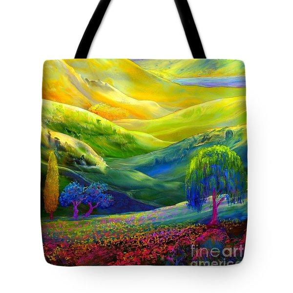 Amber Skies Tote Bag by Jane Small