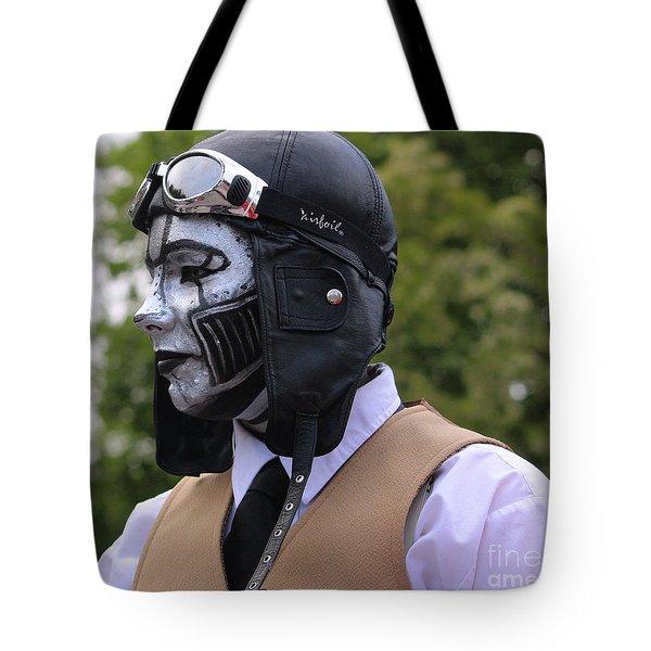 Amelia Earhart Steam Punk Tote Bag by Kym Backland