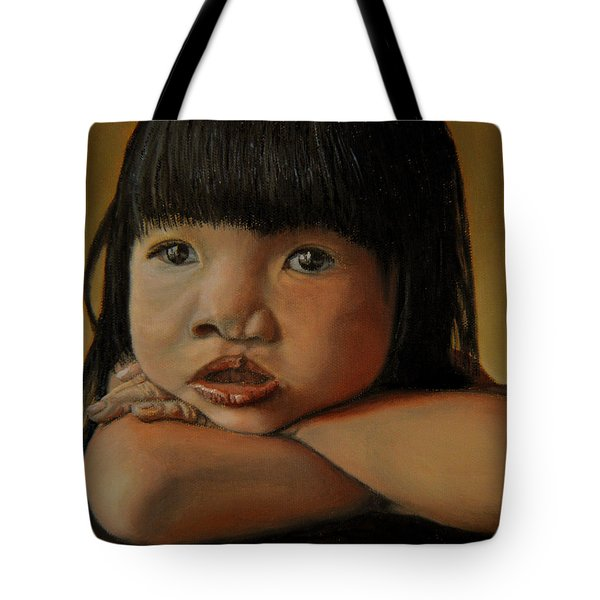 Amelie-an 4 Tote Bag by Thu Nguyen