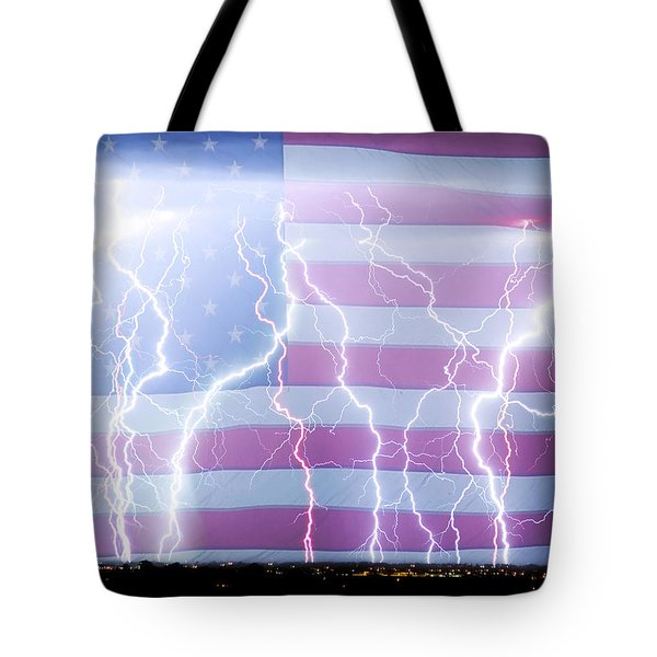 America The Powerful Tote Bag by James BO  Insogna
