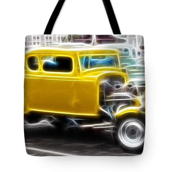 American Grafitti Coupe Tote Bag by Steve McKinzie