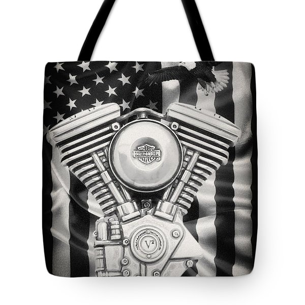 American Made Tote Bag by Todd and candice Dailey