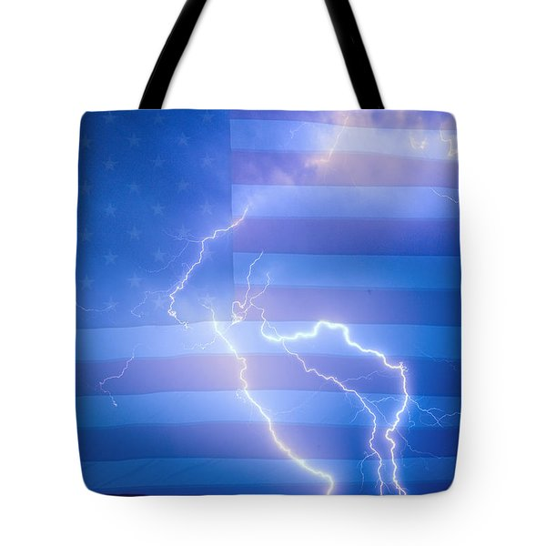 American Mother Nature's Fireworks  Tote Bag by James BO  Insogna