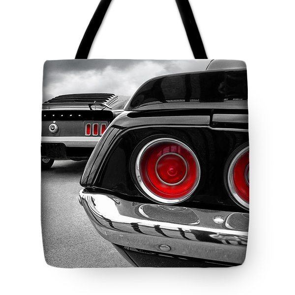 American Muscle Tote Bag by Gill Billington