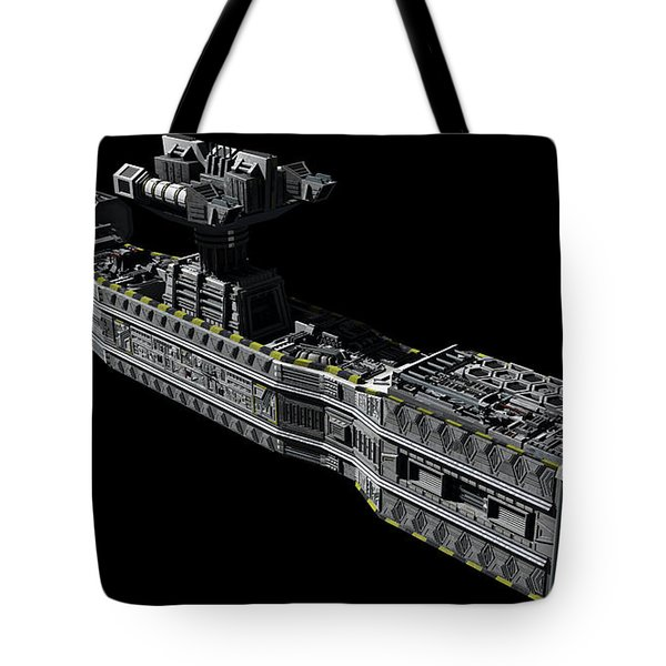 American Orbital Weapons Platform Tote Bag by Rhys Taylor