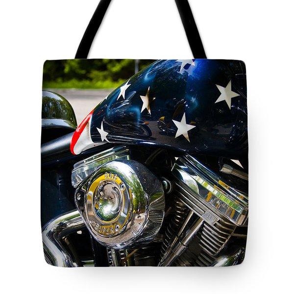 American Ride Tote Bag by Adam Romanowicz