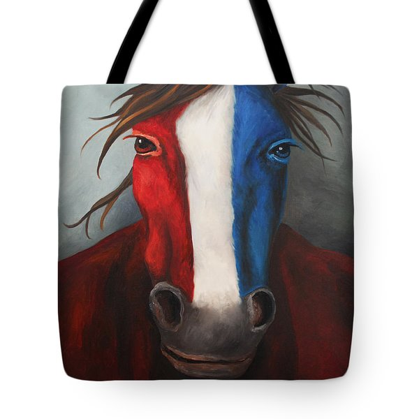 American Spirit Tote Bag by Leah Saulnier The Painting Maniac