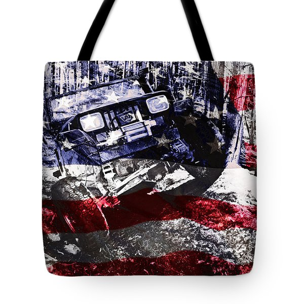 American Wrangler Tote Bag by Luke Moore