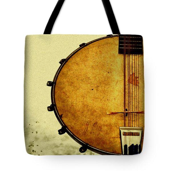 Americana Music Tote Bag by Bill Cannon