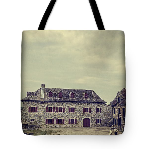 Fort Ticonderoga Tote Bag by Edward Fielding