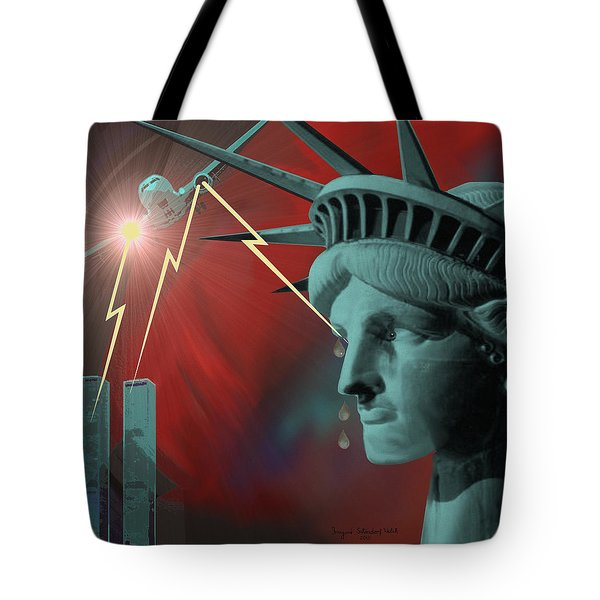 Americas Deepest  Wound  - 100 Tote Bag by Irmgard Schoendorf Welch