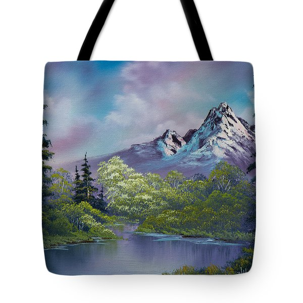 Amethyst Evening Tote Bag by C Steele