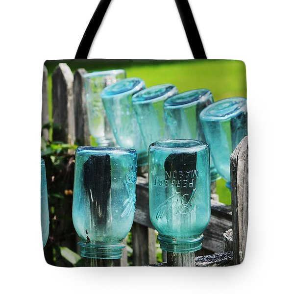 Amish Fence Tote Bag by William Rockwell