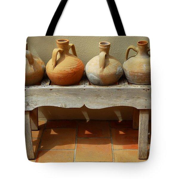 Amphoras  Tote Bag by Elena Elisseeva