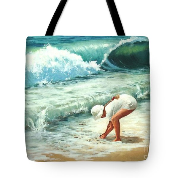 Amy's Treasure Tote Bag by Madeleine Holzberg