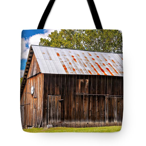 An American Barn 2 Tote Bag by Steve Harrington