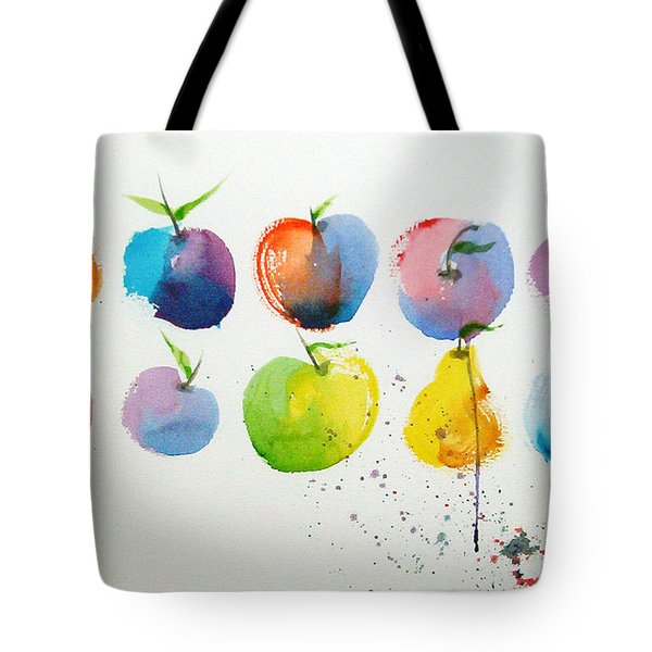 An Apple A Day Tote Bag by Joe Prater