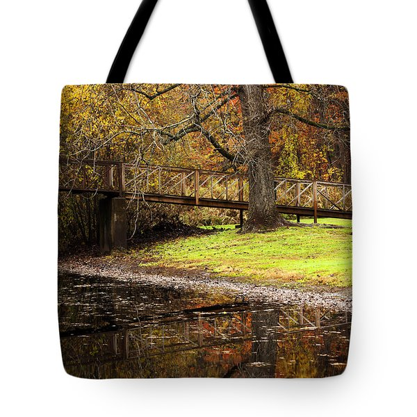 An Autumns Moment Tote Bag by Karol Livote