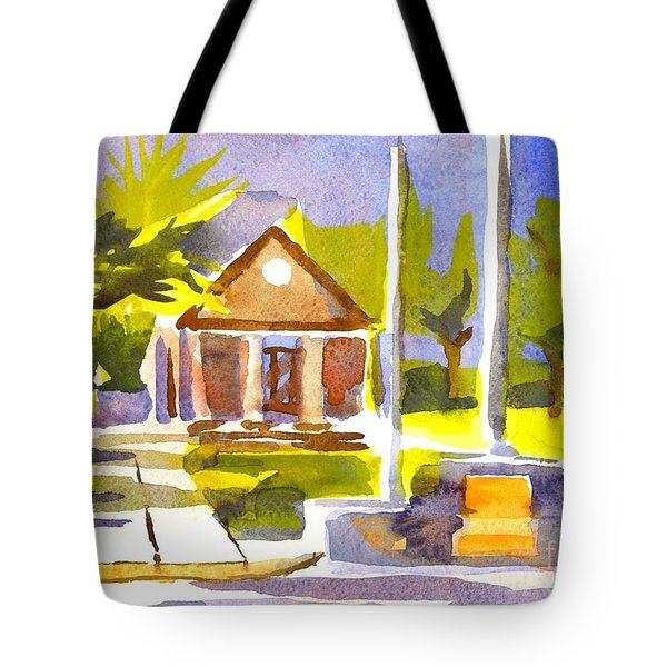 An Early Summers Morning Tote Bag by Kip DeVore