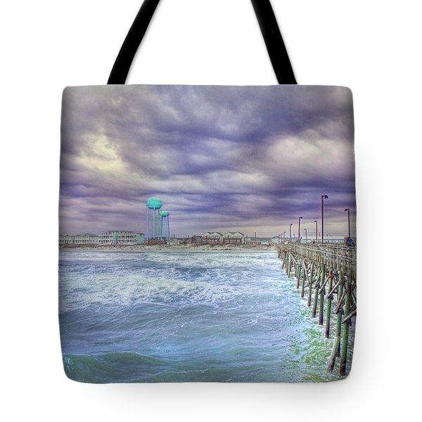 An Ocean of Clouds Tote Bag by Betsy C  Knapp