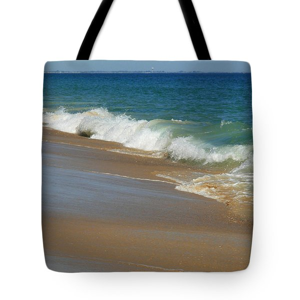 An Ocean View  Tote Bag by Neal  Eslinger
