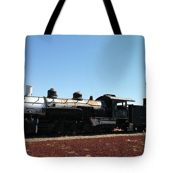 An Old Engine Tote Bag by Jeff Swan