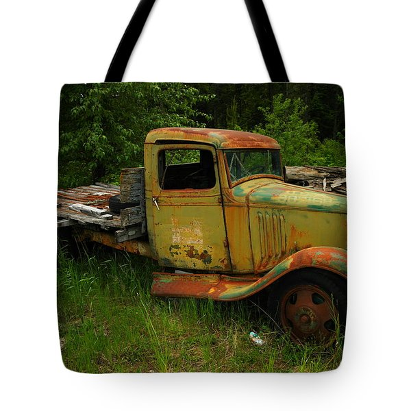 AN OLD FLATBED Tote Bag by Jeff  Swan