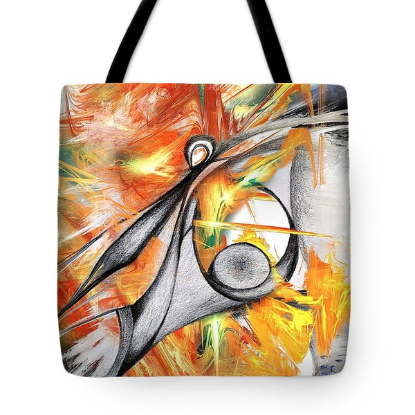 Anagram Tote Bag by Francoise Dugourd-Caput