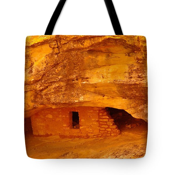 Anasazi Ruins  Tote Bag by Jeff Swan