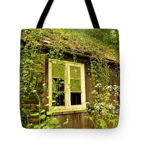Ancient Cottage Tote Bag by Rene Triay Photography