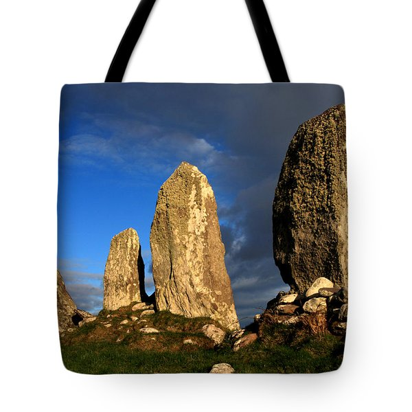 Ancient Stone Alignment Tote Bag by Aidan Moran