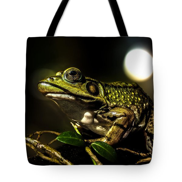 And This Frog Can Sing Tote Bag by Bob Orsillo