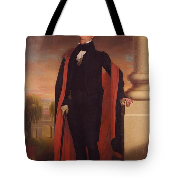 Andrew Jackson Standing Tote Bag by War Is Hell Store