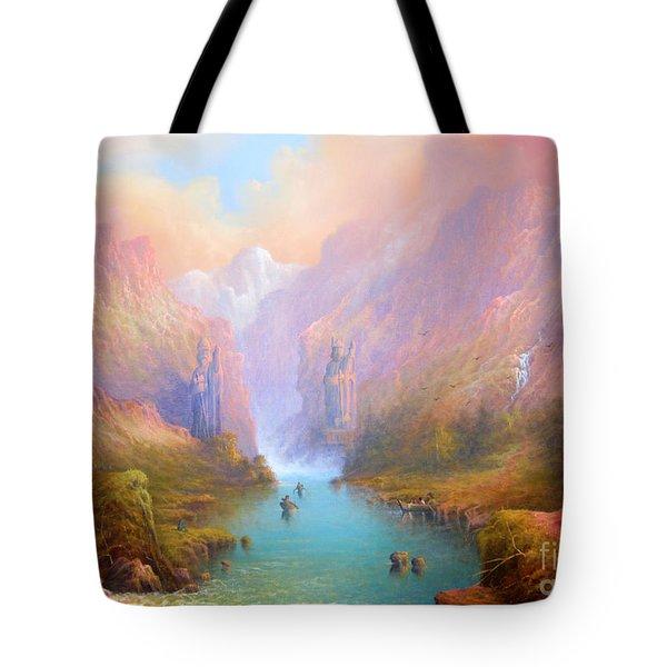 Anduin The Great River Tote Bag by Joe  Gilronan
