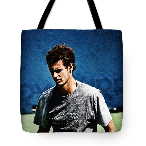 Andy Murray Tote Bag by Nishanth Gopinathan