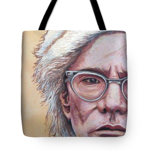 Andy Warhol Tote Bag by Tom Roderick
